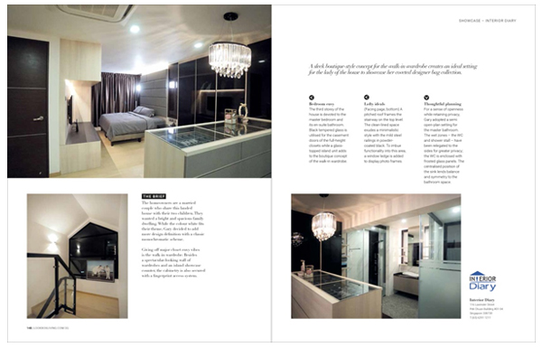 Featured In Interior Diary
